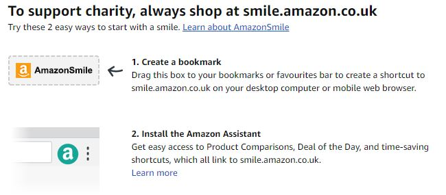 Remember to Use AmazonSmile When You Shop