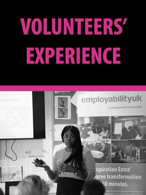 Volunteers' Experience